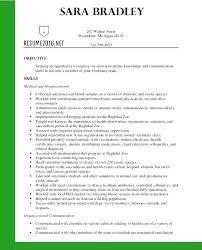 Veterinary Resume Breathelightco