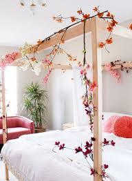frühlingsdeko ideen fürs schlafzimmer die viel romantik und