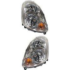 headlights for 2004 infiniti g35 ebay
