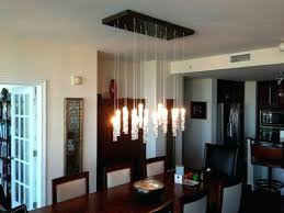 Led Dining Room Lighting Contemporary Chandeliers For Of Goodly Ideas About Modern