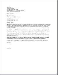 human resources letter templates pictures hr