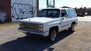 100 K5 Truck 1984 Chevrolet Blazer 2 WHEEL DRIVE NO RESERVE AUCTION 1971 1972