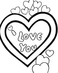 Love You Valentine Coloring Pages Christian Pictures Biblical Valentines Day Sheets