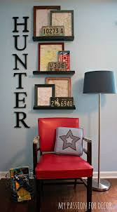 Great Display For A Boys Bedroom