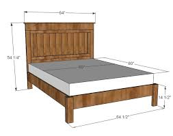 best 25 queen bed plans ideas on pinterest diy queen bed frame