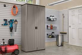 Suncast Horizontal Utility Shed 20 Cu Ft by Mega Tall Storage Cabinet Suncast Corporation