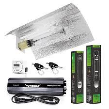 vivosun hydroponic 1000 watt hps mh grow light wing