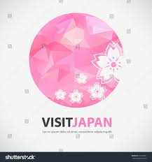 Polygon Design Abstract Japan Element Visit