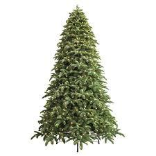 9 Ft Just Cut Noble Fir EZ Light Artificial Christmas Tree