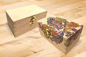 Add Some Color To A Wooden Recipe Box Home Decor How Woodworking
