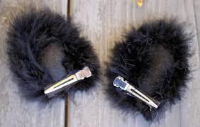 how to make cat ears do it yourself divas diy black cat costume