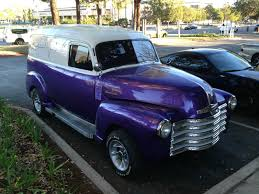 1950 Chevrolet Panel Truck Classic Hot Street Rod Muscle 3100 Not ...