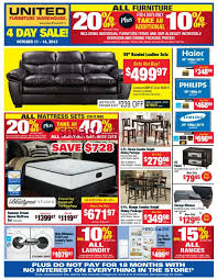 United Furniture Warehouse Flyer October 11 To 14