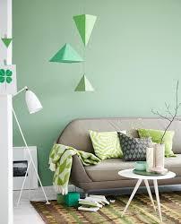 wand in grün bild 7 schöner wohnen