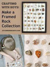 Little Birdie Secrets Make A Framed Rock Collection Tutorial