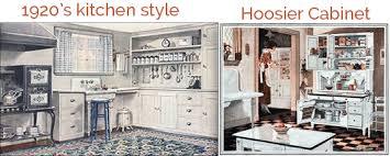 20s Kitchen And Hoosier Cabinet