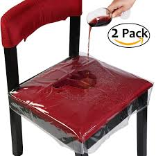 Plastic Seat Covers For Dining Room Chairs by Shop Amazon Com Dining Chair Slipcovers