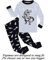 Boys Pajamas Truck Kids Pjs Sets Cotton Toddler Clothes Children ...