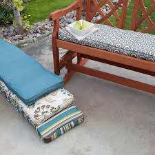 Cool Collection Outdoor Rectangular Bench Cushion Popular Home