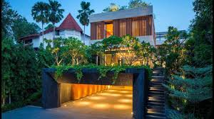 100 Wallflower Architecture Sophisticated Secret Garden House In Singapore By