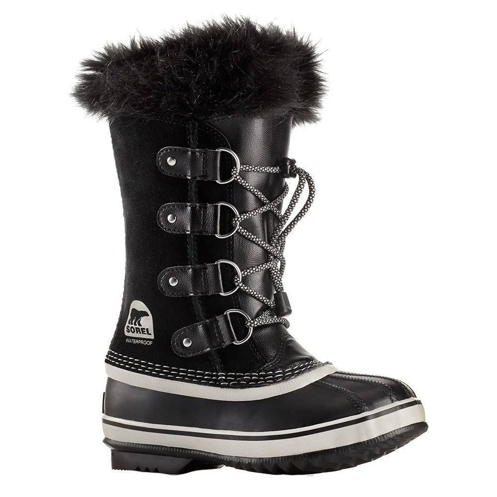 Sorel Youth Joan of Arctic Boot - 4 - Black / Oyster