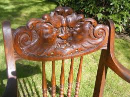 Antique Northwind Oak Chair | EBay | NORTH WIND | Antique ... Antique Wooden Chairs Timothykparkcom Dragon Chairs 97 For Sale On 1stdibs Antique Rocking Chair With Tooled Leather Seat Collectors Tips On Checking Rocking Chair With Leather Seat Image And Big Cedar Rocker 19th Century 91 At Attractive Oak Home And Vintage Bentwood By Thonet Best Recliner Used For Chairish