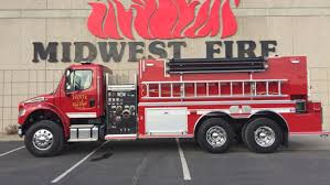100 First Fire Truck Dante Receives First New Fire Truck In 70 Years The Daily Republic