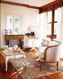 Vintage Rustic Living Room