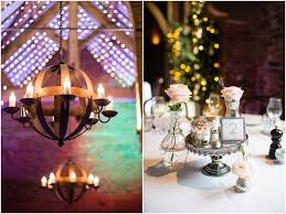 Elegant Barn Wedding Centrepiece Ideas
