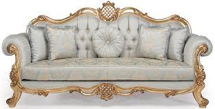 casa padrino luxus barock wohnzimmer set hellblau türkis gold 2 sofas 2 sessel 1 couchtisch wohnzimmer möbel im barockstil edel