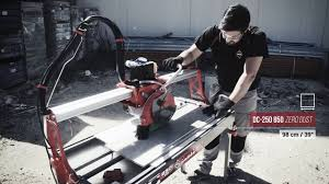 Husqvarna Tile Saw Ts 90 by Rubi Dc250 850 Tile Saw From Contractors Direct Youtube