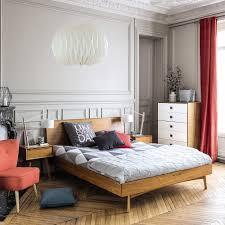 vintage bett aus eiche 180x200 maisons du monde