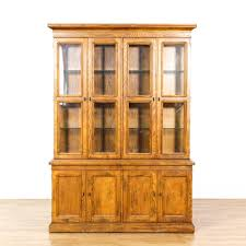 this henredon artefacts china cabinet is featured in a solid