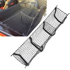 Cargo Net Three Pocket Car Organizer Trunk Organizer For ... Truck Bed Cargo Net With Elastic Included Winterialcom Hornet Pickup By Graham Gives You Many Options For Restraint System Bulldog Winch Hired Gun Offroad 72 In X 96 Full Size Holding Gear On Tailgate With Motorcycles Best Lights 2017 Partsam Truckdomeus Honda Ridgeline Nets Cam Buckles And S Hooks Walmartcom Covers 51 Cover Model No 3052dat Master Lock Truxedo Luggage Expedition Management