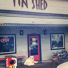 tin shed garden café is a pet friendly restaurant in portland with