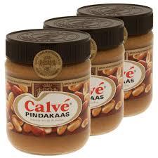 pate d arachide pcd calvé pindakaas beurre de cacahuètes pâte à tartiner arachides