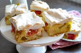 rhabarber baiser kuchen rhubarb meringue cake hafentelegramm