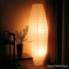 nordic woven papier boden licht led boden le steh len für wohnzimmer innen beleuchtung led boden le luminaria lara de