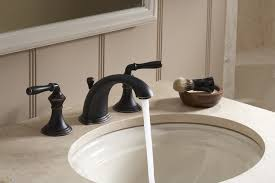 Kohler Devonshire Faucet Brushed Nickel by Kohler K 394 4 Sn Devonshire Widespread Bathroom Sink Faucet