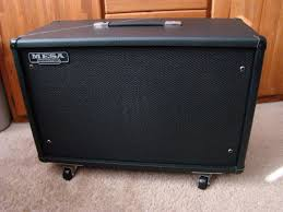 Mesa Boogie Cabinet Dimensions by Mesa Boogie 3 4 Back Guitar Amp Cabinet W Black Shadow 2x12 Reverb