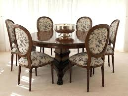 French Provincial Dining Chairs Round Back Room