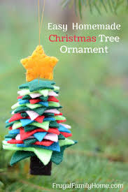 DIY Felt Christmas Ornament Arent These Handmade Tree Ornaments So Cute