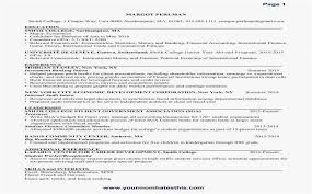 Best Samples Accounting Resumes Fresh Accountant Resume Inspirational New Sample Simple