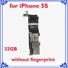 logic board without fingerprint motherboard for iphone 5S 32GB