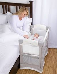 Bed to Crib Moving Baby
