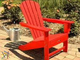 Red Adirondack Chairs Polywood by Exclusive Polywood Recycled Plastic Big Daddy Adirondack Chair