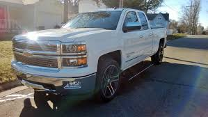 100 Power Steps For Trucks Side View With 22 Wheels Billet Grille Amp Steps Down