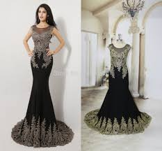 popular black prom dress see through buy cheap black prom dress