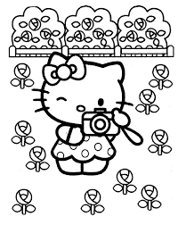 Hello Kitty Coloring Pages 54