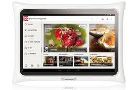 tablette cuisine qooq tablette culinaire qooq darty